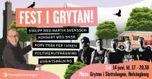 Hyresgästföreningen blandar bostadspolitik och underhållning i Grytan