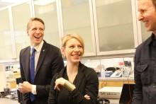 Konsumentminister Per Bolund besökte IKEA i Älmhult