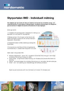 Produktblad Styrportalen IMD