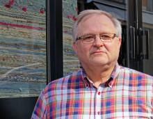 Kent Johansson tar över ordförandeklubban i Hemslöjden