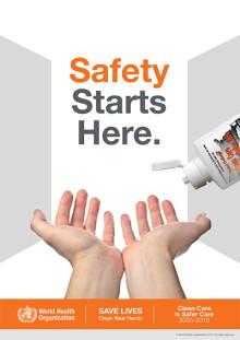 Rena händer räddar liv!