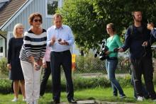 Därför väljer Stefan Löfven att göra sina utspel i Haninge