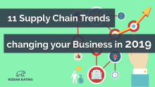 11 Supply Chain Trends changing your Business in 2019
