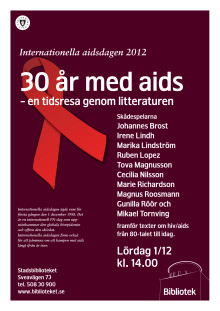 Affisch Aidsdagen