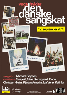 VEGA løfter sløret for navnene på aftenens medvirkende, når VEGA hylder den Danske Sangskat.