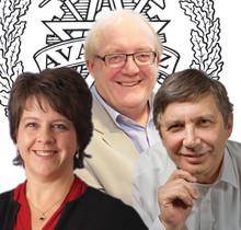 Andre Geim, Kristy B Arbogast och Simon Tavaré blir årets hedersdoktorer på Chalmers