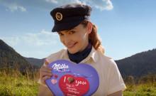 Milka má novou Valentýnskou reklamní kampaň