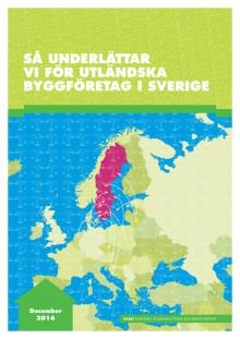 Rapport från SABO: Så underlättar vi för utländska byggföretag i Sverige