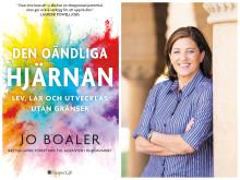 """DEN OÄNDLIGA HJÄRNAN ute nu – ny bok av forskaren Jo Boaler som krossar myten om """"mattehjärnan"""" och visar vägen till hur hjärnan kan växa hela livet"""