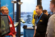 Scanlaser på Geodesidagarna 2012
