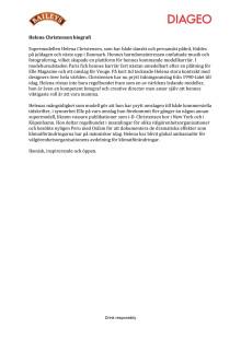 Helena Christensen biografi