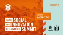 Fjärde toppmötet om Social innovation i Malmö