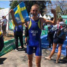 Heroiskt lopp av Andreas Carlsson i Världsungdoms-OS