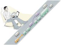 Klart att inleda provning som ett led i utvecklingen av säker teknik för motorvägståg