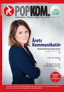 Artikel om Årets Kommunikatör 2011 publicerad i tidskriften Populär Kommunikation 2012-03-07
