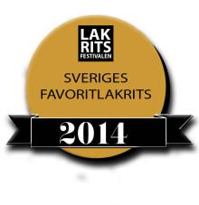 Finalister i Sveriges favoritlakrits 2014