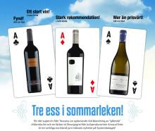 Tre ess i sommarleken - nyheter från The Wineagency!