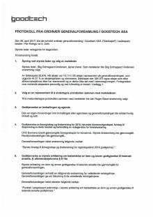 Generalforsamlingsprotokoll 170426