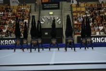 Brommagymnasterna, Gefle GF och Örebro GF KIF bäst i Sverige på truppgymnastik