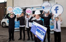 Digital Scotland's fibre showcase visits Dundee high schools