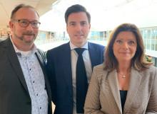 Åtgärdsförslag från Skåne presenterade för arbetsmarknadsministern