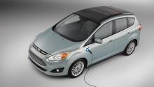 Konceptbilen Ford C-MAX Solar Energi ger en glimt av en miljövänligare framtid