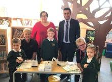 School pupils follow council's lead in getting the flu vaccination