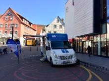 Beratungsmobil der Unabhängigen Patientenberatung kommt am 5. März nach Waiblingen.