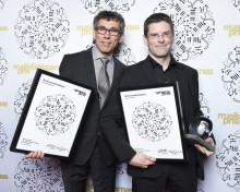 Albert Schnelzer fick Musikförläggarnas Pris