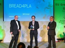 """BREAD4PLA gewinnt Green Award als eins der zwei besten """"LIFE+""""-Projekte der letzten 25 Jahre"""
