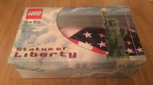 Sällsynt frihetsgudinna i lego  gick för 12 000 på Tradera