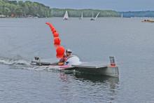 Team der TH Wildau siegte bei der 7. Europäischen Solarboot-Regatta auf dem Werbellinsee