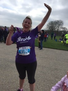Local runner joins the resolution for the Stroke Association