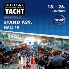 Digital Yacht auf der Boot 2020 - Halle 10 Stand A29