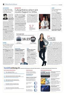 Medienmitteilung Handelsblatt - Baselworld