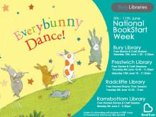 Everybunny Dance during National BookStart Week