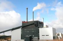 Energiminister Ibrahim Baylan inviger Växjö Energis nya kraftvärmeverk Sandvik 3