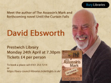 Meet David Ebsworth, author of The Assassin's Mark