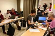 ITG-elever utbildar under Get Online Week