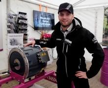 Teknik från supersportbilar ger kraft till Logsets nya skördare
