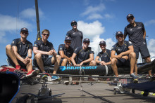 Svenska Bluewater stöder Artemis Youth Racing under America's Cup på Bermuda