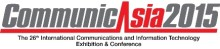 CommunicAsia in Singapore, June 2nd-5th 2015