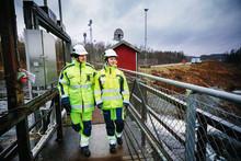 Komplext dammbygge i Hylte
