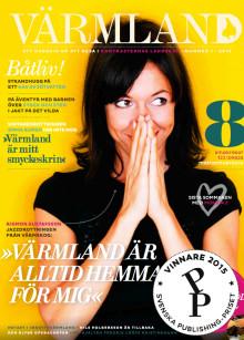 Värmland prisat för sina texter i Svenska Publishing-Priset 2015