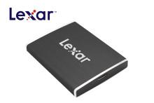 Tre bærbare SSD-disker fra Lexar