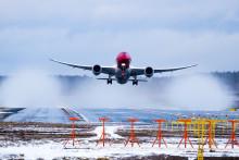 Norwegian med en passagerartillväxt på 13 procent i januari