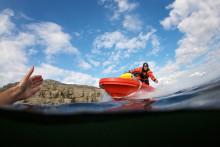 Ica-handlare i Uppsala donerar sjöräddningsbåt