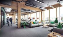 White ritar Sveriges största kontorsbyggnad i trä