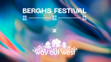 Way Out West to collaborate with Berghs Festival