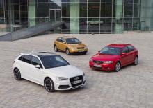 Audi A3 fejrer 20 års jubilæum